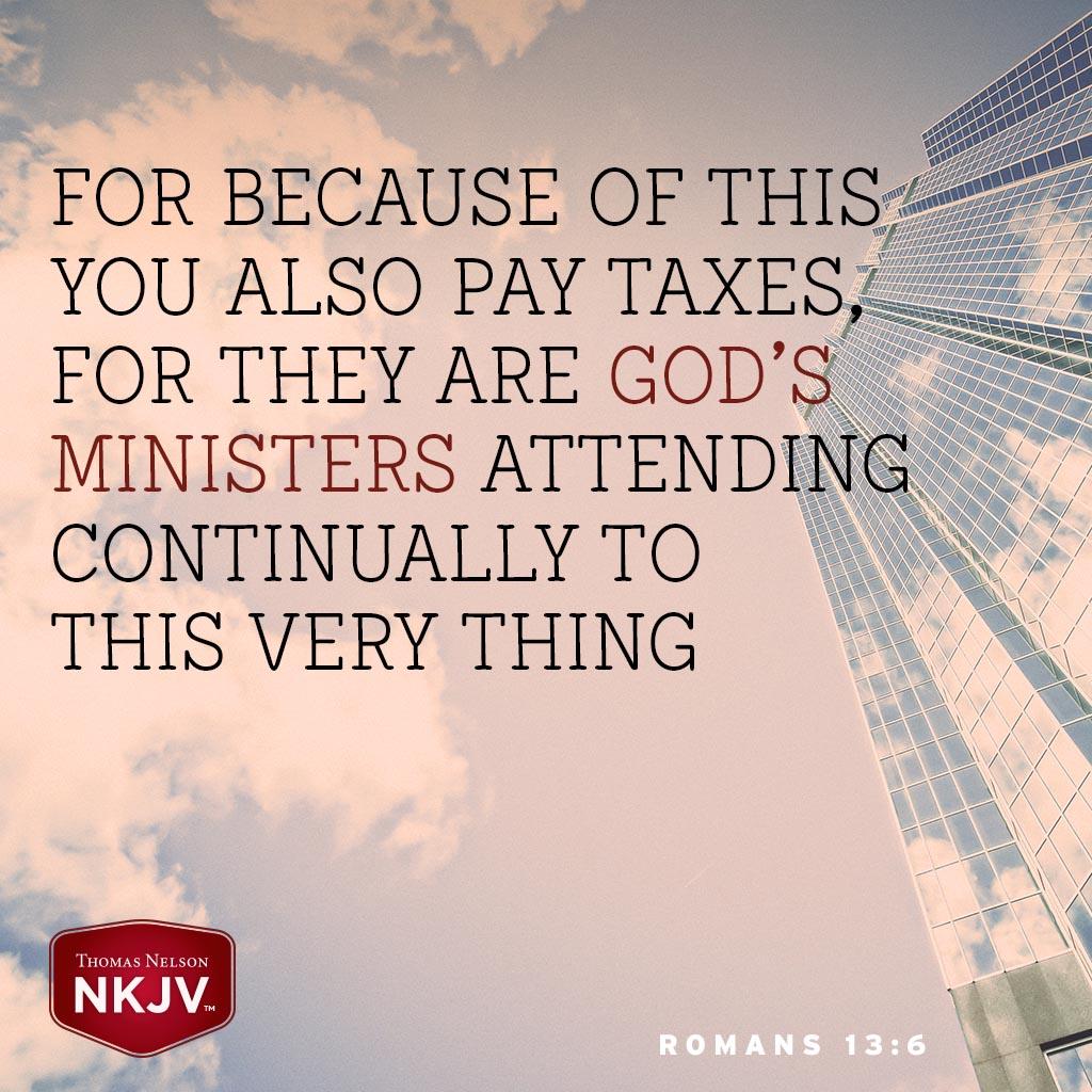 Romans 13:6
