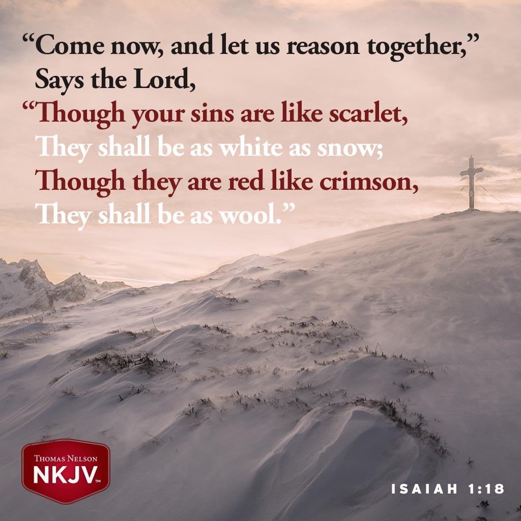 Isaiah 1:18